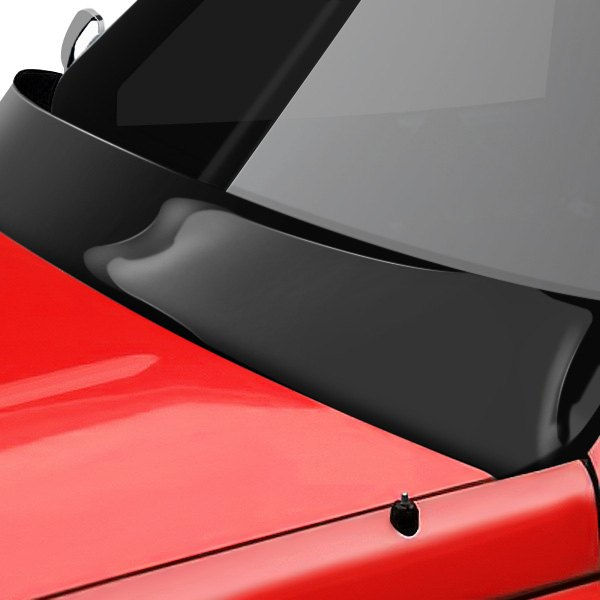Image may not reflect your exact vehicle! Lund® - Shadow™ Smoke Wiper Cowl