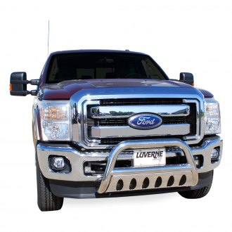 "Luverne Truck Equipment® - 3"" Stainless Steel Bull Bar Assembly - without skid plate"