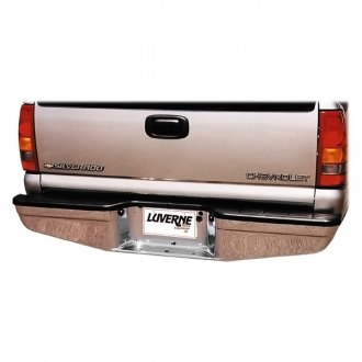 "Luverne® - 8"" Chrome HD Drop Center Rear Bumper"