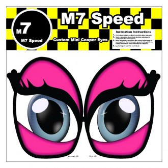M7 Speed® - Underhood Eye Decal Set