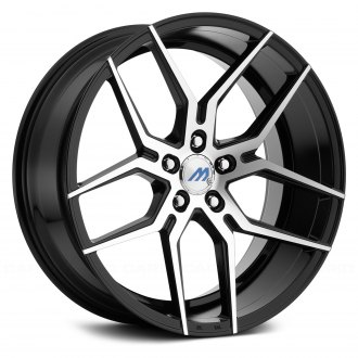 2005 pontiac gto rims custom wheels at carid page 5 Mustang Mach One mach me4 gloss black with machined face