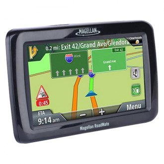 "Magellan® - RoadMate 4.3"" Touchscreen Vehicle GPS Navigator with Free Lifetime Map Updates"