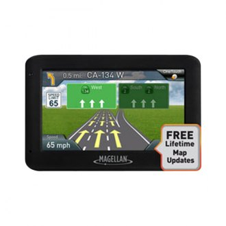"Magellan® - RoadMate™ 4.3"" Vehicle GPS Navigator with Lifetime Maps"