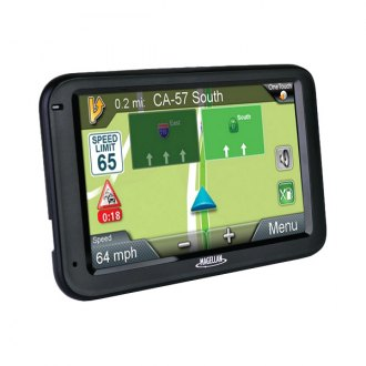 "Magellan® - RoadMate 5.0"" Touchscreen Vehicle GPS Navigator with Free Lifetime Map Updates"