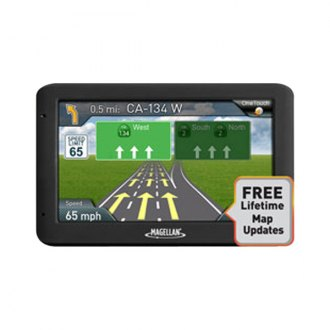 "Magellan® - RoadMate™ 5"" Vehicle GPS Navigator with Lifetime Maps"