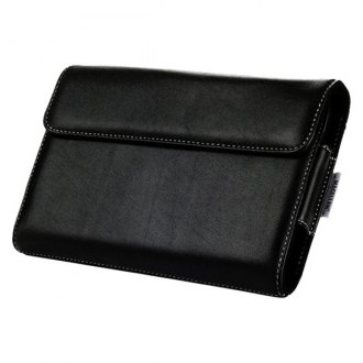 Magellan® - Leather Carry Case For 4.3 and 4.7 RoadMate and Maestro GPS Navigators