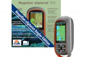 "Magellan® - eXplorist 310 Angler Edition 2.2"" Screen Handheld GPS Navigator With 3 Fishing Hotspots"