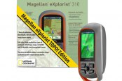 "Magellan® - eXplorist 310 Nat Geo TOPO! Special Edition Bundle 2.2"" Screen Handheld GPS Navigator"