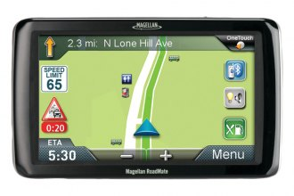 "Magellan® - RoadMate Commercial Truck 9270T-LM 7"" GPS Device with Free Lifetime Map & Traffic Updates"