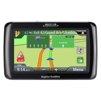 Magellan® - RoadMate 2036 4.3 Touchscreen Vehicle GPS Navigator With Lifetime Traffic Alerts