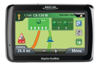 "Magellan® - RoadMate 2055TLM 4.3"" GPS Device with Free Lifetime Map & Traffic Updates"