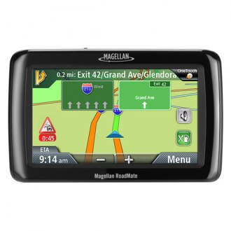 "Magellan® - RoadMate® 2136TLM 4.3"" Vehicle GPS Navigator, Refurbished"