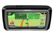 "Magellan® - RoadMate 2136T-LM 4.3"" Touchscreen Vehicle GPS Navigator With Lifetime Traffic Alerts and Map Updates"