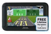 "Magellan® - RoadMate 2255T-LMB 4.3"" Touchscreen Vehicle GPS Navigator with Bluetooth, Lifetime Traffic Alerts and Map Updates"