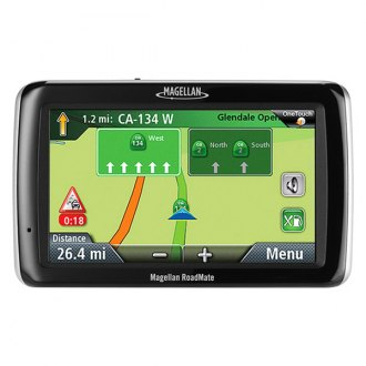 Magellan® - RoadMate 3045-MU 4.7 Touchscreen Vehicle GPS Navigator with Lifetime Traffic Alerts and One Map Update