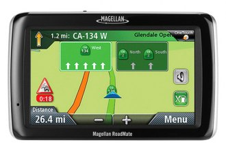 "Magellan® - RoadMate 3045-MU 4.7"" Touchscreen Vehicle GPS Navigator with Lifetime Traffic Alerts and One Map Update"