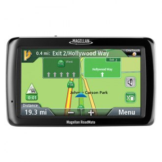 "Magellan® - RoadMate® 5054LM 5"" Vehicle GPS Navigator, Refurbished"