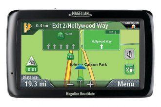 "Magellan® - RoadMate 5045LM 5"" GPS Device with Free Lifetime Map Updates"