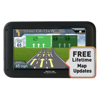 Magellan® - RoadMate 5220-LM 5 Touchscreen Vehicle GPS Navigator With Lifetime Map Updates