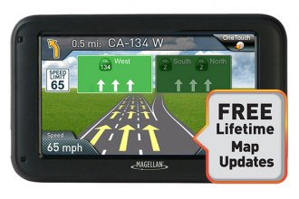 "Magellan® - RoadMate 5220-LM 5"" Touchscreen Vehicle GPS Navigator with Lifetime Map Updates"