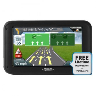 "Magellan® - RoadMate® 5230TLM 5"" Vehicle GPS Navigator, Refurbished"