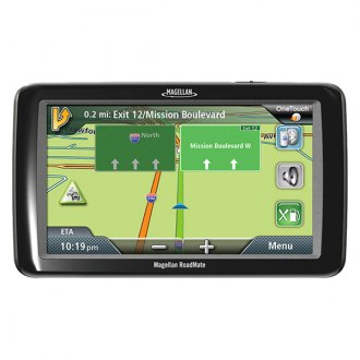 Magellan® - RoadMate 5255T-LM 5 Touchscreen Vehicle GPS Navigator With Lifetime Map Updates, With Backup Camera Bundle