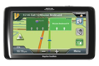 "Magellan® - RoadMate 5255T-LM 5"" Touchscreen Vehicle GPS Navigator with Lifetime Map Updates, with Backup Camera Bundle"