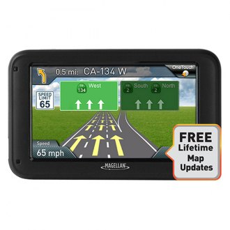 "Magellan® - Roadmate® 5322-LM 5"" Vehicle GPS Navigator with Free Lifetime Maps"
