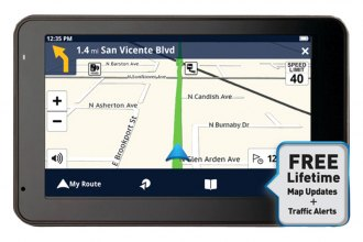 "Magellan® - RoadMate 5430T-LM 5"" GPS Device with Free Lifetime Map & Traffic Updates"