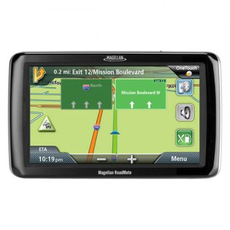"Magellan® - RoadMate 9055LM 7"" Vehicle GPS Navigator, Refurbished"