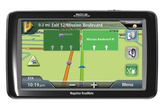 Magellan® - RoadMate 9055 7 Touchscreen Vehicle GPS Navigator With Bluetooth, With Lifetime Traffic Alerts