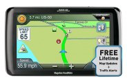 "Magellan® - RoadMate 9250T-LMB 7"" Touchscreen Vehicle GPS Navigator"