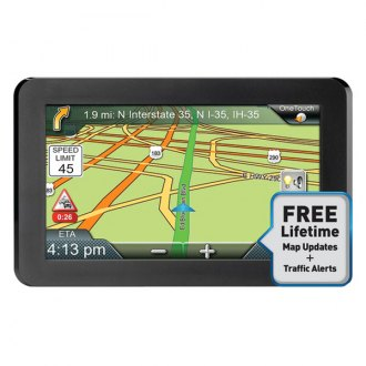 "Magellan® - RoadMate™ 9412T-LM 7"" Vehicle GPS Navigator with Lifetime Map and Traffic Alerts"