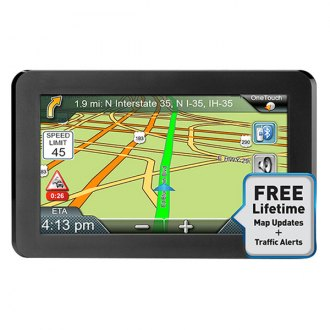 "Magellan® - RoadMate® 9465-LM 7"" Vehicle GPS Navigator with Free Lifetime Maps"