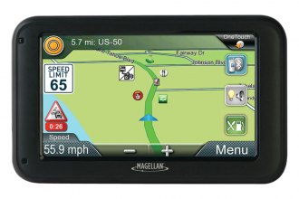 "Magellan® - RoadMate RV 5365T-LMB 5"" GPS Device with Free Lifetime Map & Traffic Updates"