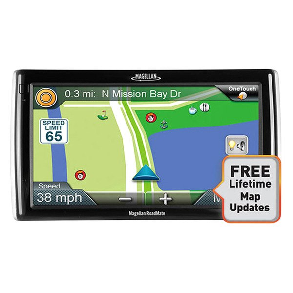 "Magellan® - RoadMate RV9145-LM 7"" Touchscreen Vehicle GPS Navigator with Lifetime Map Updates"