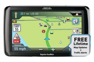 "Magellan® - RoadMate RV 9365T-LMB 7"" GPS Receiver with Free LIfetime Map & Traffic Updates"