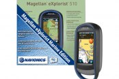 "Magellan® - eXplorist 510 Pro Angler Edition 3"" Touchscreen Handheld GPS Navigator With Fishing Hot Spots Pro"