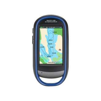 Magellan® - eXplorist 510 Pro Angler Edition 3 Touchscreen Handheld GPS Navigator with Fishing Hot Spots Pro