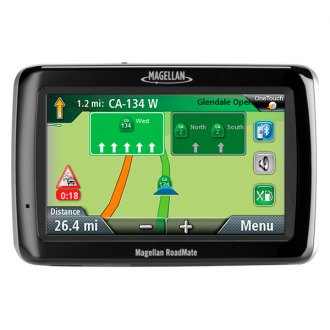 "Magellan® - RoadMate® 2055TLM 4.3"" Vehicle GPS Navigator, Refurbished"