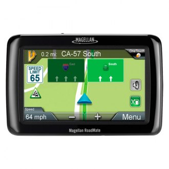 "Magellan® - RoadMate® 2145TLM 4.3"" Vehicle GPS Navigator, Refurbished"