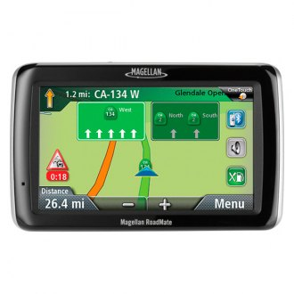 "Magellan® - RoadMate™ 4.7"" Vehicle GPS Navigator with Free Lifetime Map and Traffic Updates"