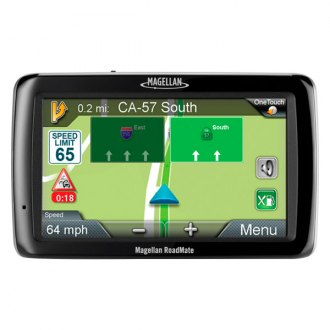 "Magellan® - RoadMate® 5145TLM 5"" Vehicle GPS Navigator, Refurbished"