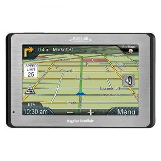 "Magellan® - RoadMate 5175T-LM 5.0"" GPS Navigator with Free Lifetime Map Updates"