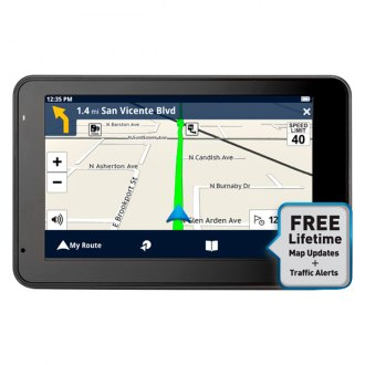 "Magellan® - RoadMate 5430T-LM 5"" GPS Navigator with Free Lifetime Map & Traffic Updates"