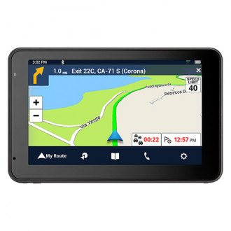 "Magellan® - RoadMate® 5465T-LMB 5"" Vehicle GPS Navigator with Bluetooth® and Free Lifetime Maps and Traffic Updates"
