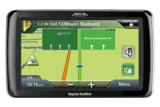 "Magellan® - RoadMate™ 9020 7.0"" Touchscreen GPS Navigator with Free Lifetime Map and Traffic Updates"