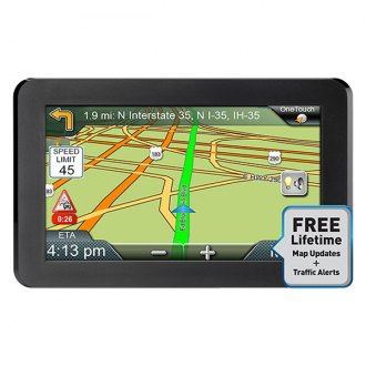 "Magellan® - RoadMate™ 9416T-LM 7.0"" Touchscreen GPS Navigator with Free Lifetime Map and Traffic Updates"