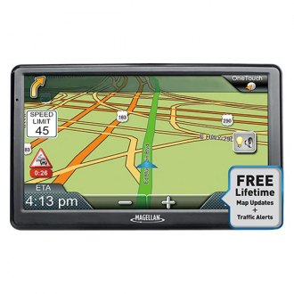 "Magellan® - RoadMate 9616T-LM 7.0"" GPS Navigator with Free Lifetime Map Updates"