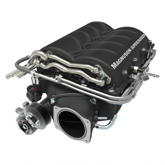 MagnaCharger® - TVS2300 Series Black Heartbeat Supercharger Kit